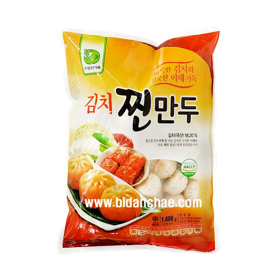 [엄지식품] 김치 찐만두/김치찐만두 1.4kg